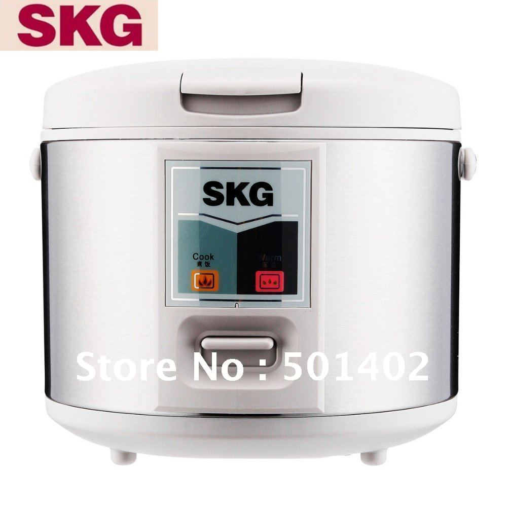 Wholesales-Wholesales SKG CFXB30-J32A electric rice cooker electric deluxe mechanical cylinder non-stick stainless steel white