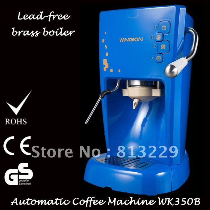 1L Italian Fully Automatic Espresso And Cappuccino Coffee Machine For POD Use 15 Bar Free Shipping