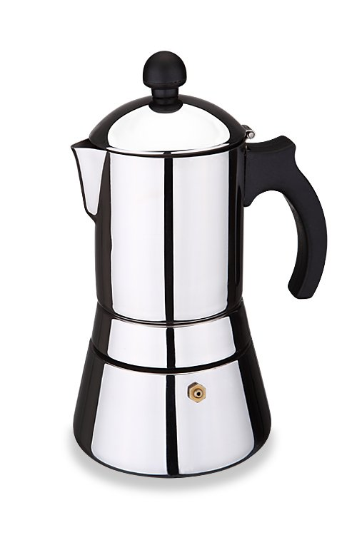 Free shipping!!! Bialetti,Inoxpran's supplier! 6cup High quality stainless steel Expresso/Moka coffee maker,Espresso coffee pot