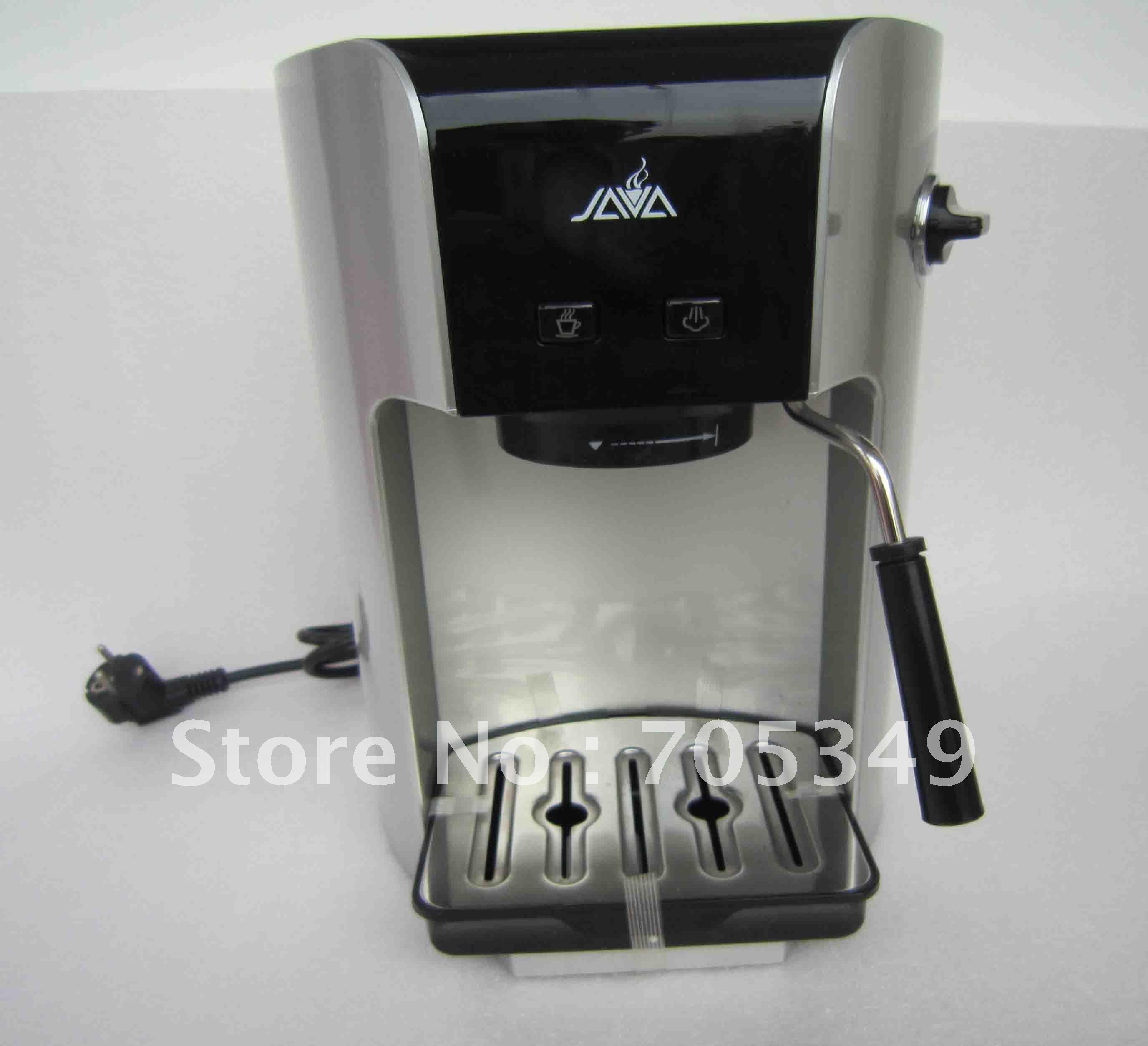 semi-auto espresso coffee machine (pod, powder, capsule 3 in 1 coffee machine)