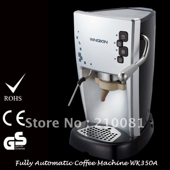 1L Italian POD Espresso & Cappuccino Fully Automatic Coffee Maker Machine 15 Bar Free Shipping
