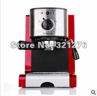 free shipping !Hot sell automatic ESPRESSO CAPPUCCINO COFFEE MACHINE COFFEE MAKER 1350 WATT stainless steel