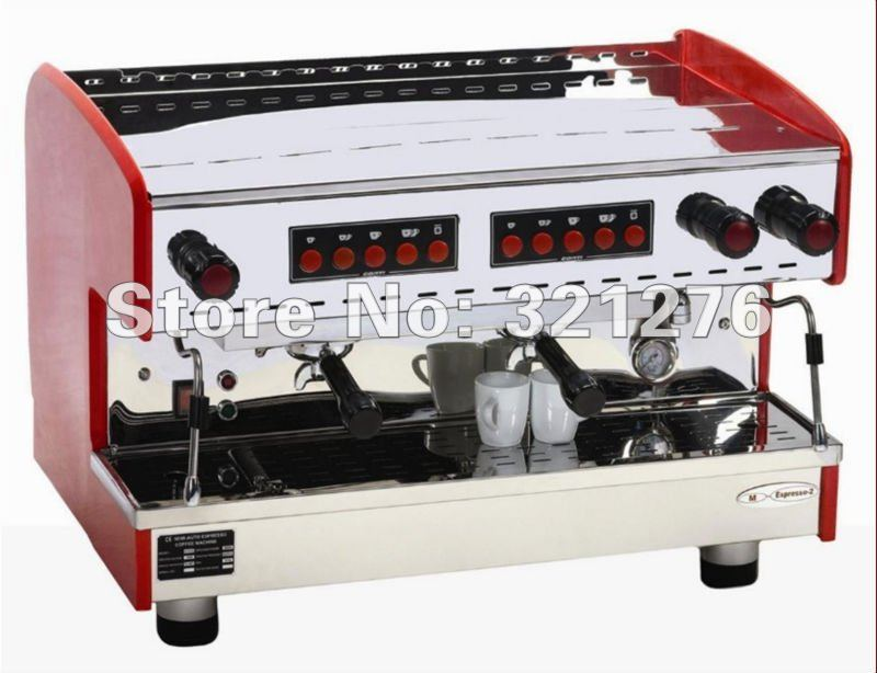 Free shipping !Supply automatic double-steam  ESPRESSO CAPPUCCINO COFFEE MACHINE TEA MAKER  3600W WATT stainless steel