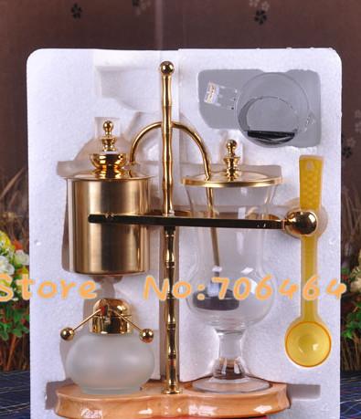 Royal balancing siphon coffee maker Belgium coffee machine Syphon vacuum syphon coffee tool set
