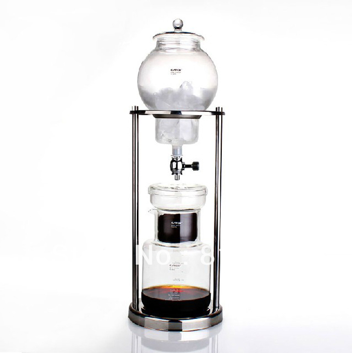 free DHL shipping 8cups / 600ml iced drip coffee maker with perfect quality and the best price