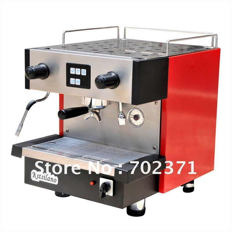 classical style semi-automatic 1steam tap coffee machine CE qualified/Competitive price/excellent performance