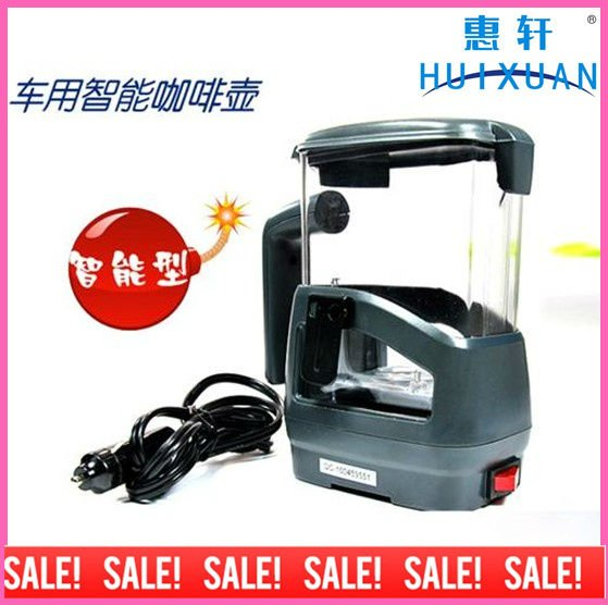 Car use Water Heater Coffee Pot With Dishware In Handle