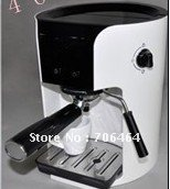 White semi- automatic 3 in 1function coffee powder pod and capsule portable coffee machine ULKA pump