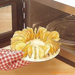 In queen DIY Korean DIY , baked potato chips microwave oven baked potato chips