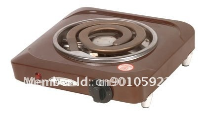 CE 1000w single  electric stove for cooking in kitchen
