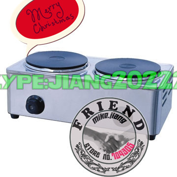 JHD New Arrival! HEQ-2 Double Heads Hot Plate Cooker,rice cooker
