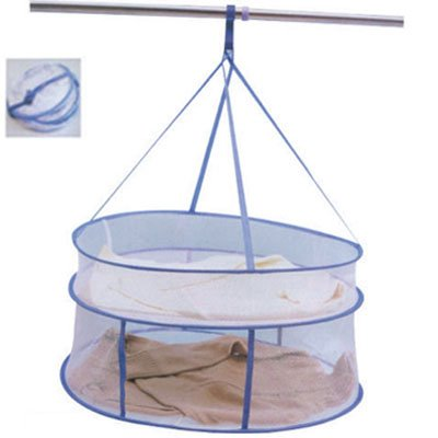 High quality closed double drying clothes basket