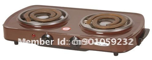 2000w double electric stove with CE/RHOS