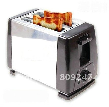 5pieces /lot  Home use automatic stainless toaster toaster toast oven toaster machine