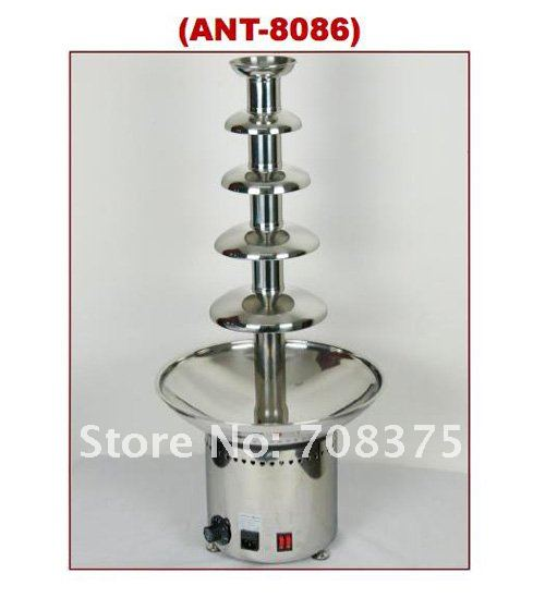 Wholesale NEW Commercial  5 layers High-grade chocolate fountain co