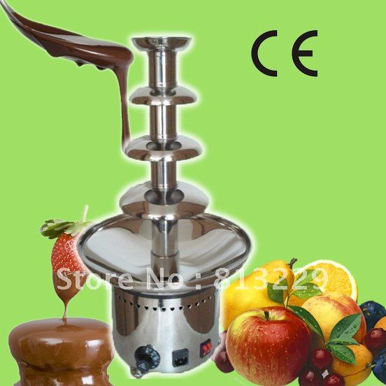 60CM 4 Tiers Stainless Steel Commercial Chocolate Fountain Maker!! Quality Absolutely Guaranteed!! Free Shipping