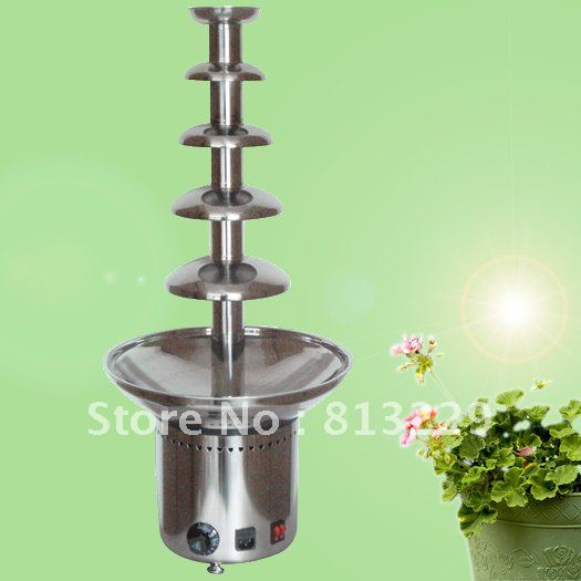 5 Layers 80CM Stainless Steel Electric Chocolate Fountain Commercial Free Shipping!! Quality Absolutely Guaranteed