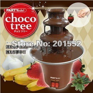 wholesale and retail Chocolate Fondue Fountain with 3-Tier Tower