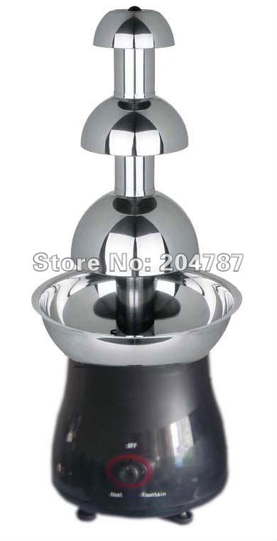 Amazing Christmas present! 3 layers home chocolate fountain, romantic fountain,tower use stainless steel, on retail