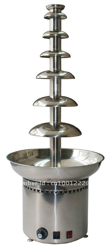 7 Layers100CM Stainless Steel Commercial Chocolate Fondue Fountain Free Shipping!! Quality Absolutely Guaranteed