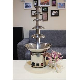 hot sale chocolate fountains with high stainless steel and motor 1pcs frees hipping
