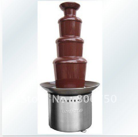 4 Layers 60cm Full Stainless Stell Material Chocolate Fountain Machine