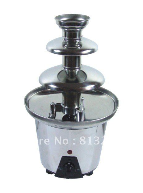 33CM Mini Triple Chocolate Fountain Maker For Home Use!!  Free Shipping