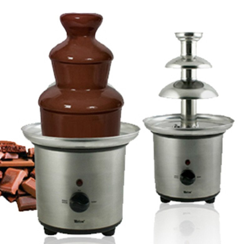 Factory direct supply wholesale the OEM exported to Europe and America stainless steel chocolate fountain machine