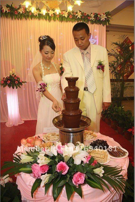 BIG HITS!! All sizes of chocolate fountain  at great prices for christmas