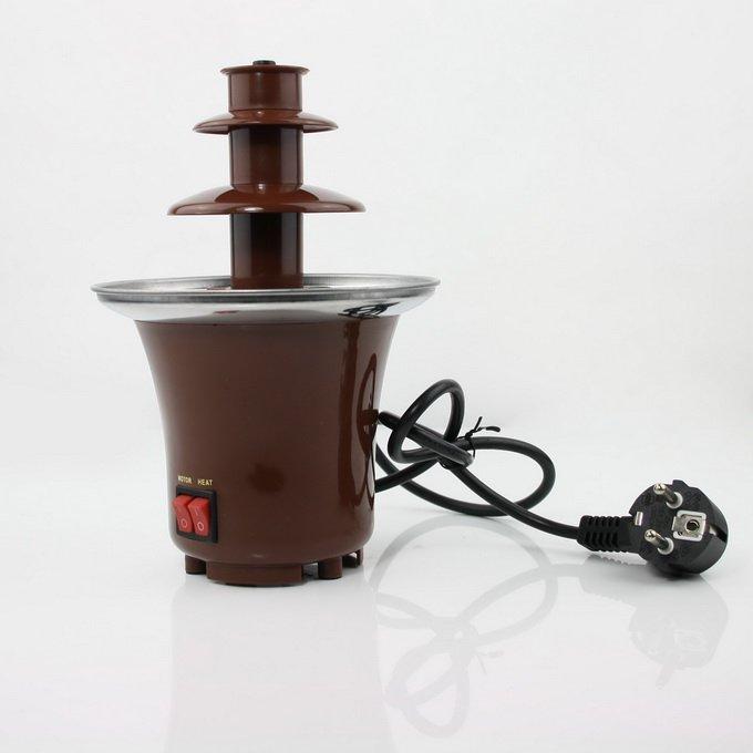tainless Steel 3-Tier Chocolate Fountain Fondue NEW