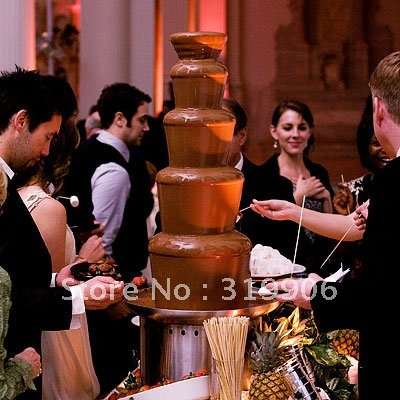 Retail online, christmas present.  80cm high chocolate fountain, wedding  fountain, resturant
