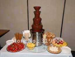 christmas present! 4-tier chocolate fountain, commercial chocolate fountain, fountain factory