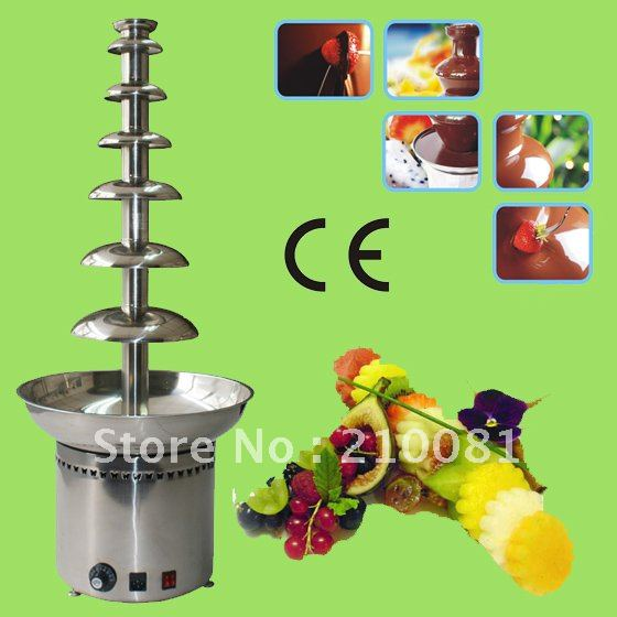 7 Tiers 100CM Stainless Steel Large Commercial Chocolate Fountain Free Shipping Hot-sale!! Quality Absolutely Guaranteed