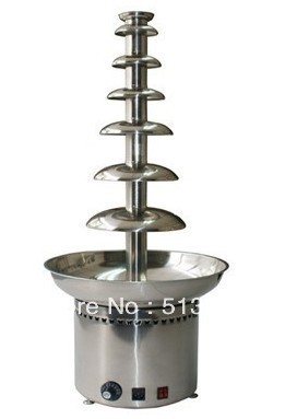 Free shipping 7 tiers Wedding Commerical Chocolate Fountain