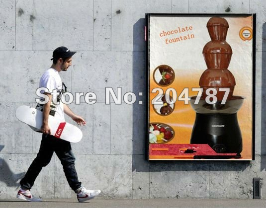 Amazing Christmas present! ON RETAIL!  3 layers home chocolate fountain, romantic fountain,tower use stainless steel