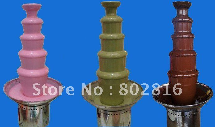 5 Tiers 80CM  Commercial Chocolate Fountain