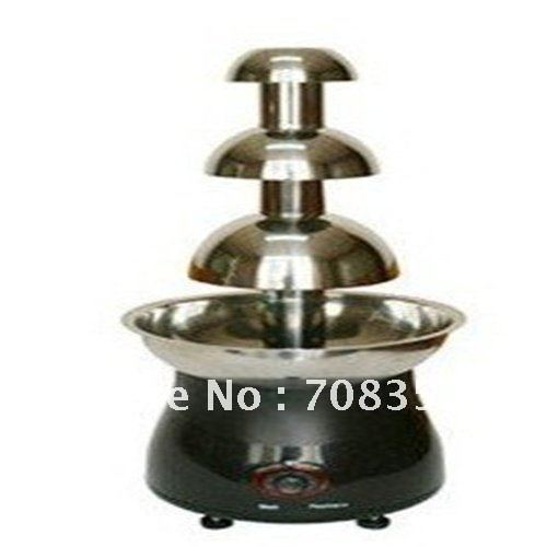 hot  sale chocolate fountain machine for 3 levels