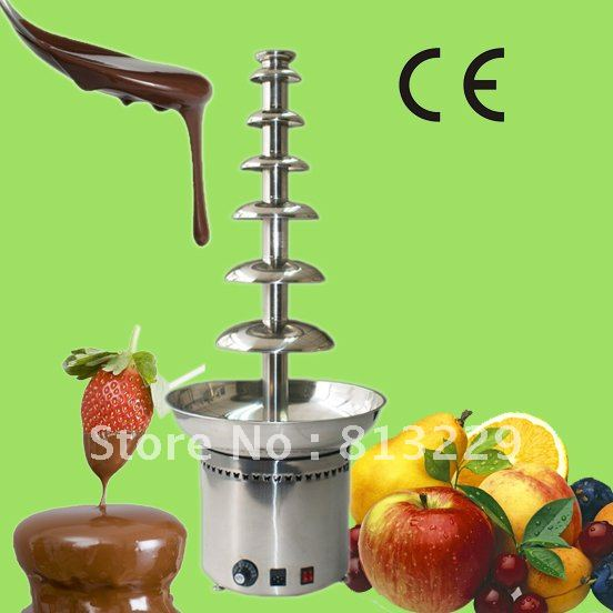 7 Tiers 100CM Stainless Steel Large Commercial Chocolate Fountain Machine!! Quality Absolutely Guaranteed!! Free Shipping