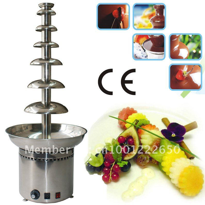 7 Tiers 100CM Stainless Steel Large Commercial Chocolate Fountain Maker!! Quality Absolutely Guaranteed!! Free Shipping