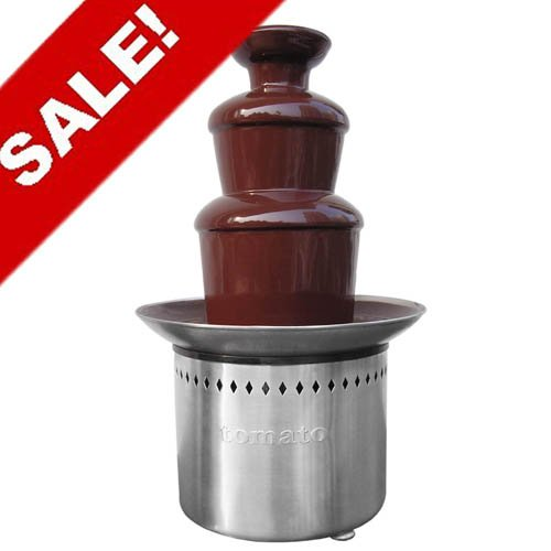 Free shipping until Christmas Day---Hot sale 40cm Chocolate fountain(EC-40)