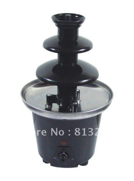 33CM Mini Triple Chocolate Fountain Maker For Domestic Use!!  Free Shipping
