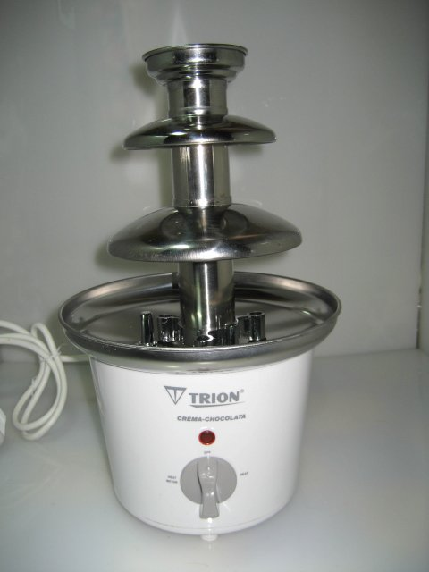 High-end chocolate fountain, new product / European market