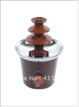 ANT-8020 3 Tiers 0.8kg Capacity Home Super Mini Chocolate Fountain-35*35*56CM