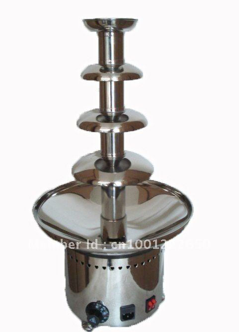 4 Layers 60CM Stainless Steel Commercial Chocolate Fondue Fountain Free Shipping!! Quality Absolutely Guaranteed