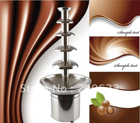 """31.5"""",220V Five tiers Commercial Chocolate fountains(free shippin),ANT-8086"""