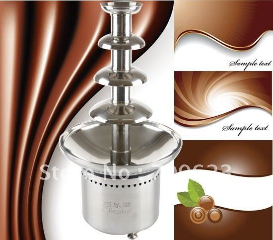 """New 304 Stainless Steel 23.5"""" 60cm Commercial Chocolate fountains,1 year guarantee (Free shipping)"""
