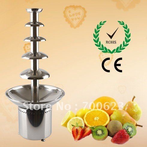 """New 304 Stainless Steel 31.5""""  Commercial chocolate fountains,Free Shipping (ANT-8086)"""