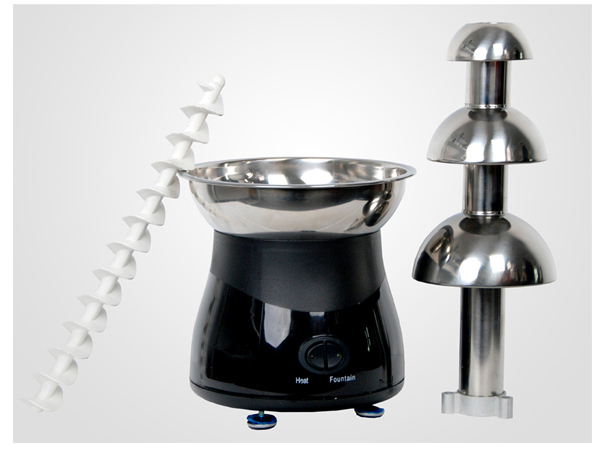 CHOCOLAZI ANT-8050 Auger 3 Tiers Home Cheap Chocolate Fountain