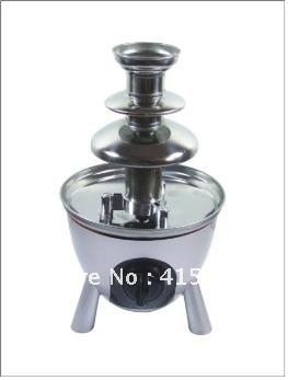 #ANT-8030  3 Tires free shipping  1.0kg Capacity Home Mini Chocolate Fountain-38*38*33CM