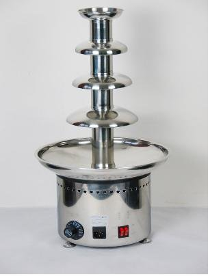 ANT-8060  Free Shipping 4 Tires 6KG Capacity Commercial Chocolate Fountain-37*37*80cm